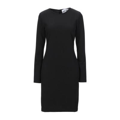 BRAND UNIQUE ミニワンピース&ドレス ブラック 0 ポリエステル 100% ミニワンピース&ドレス