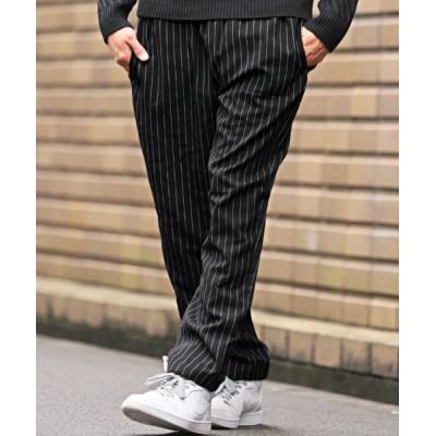 【ラグスタイル】 シェフパンツ/シェフパンツ ワイドパンツ メンズ 秋冬 メンズ ブラック系1 M LUXSTYLE