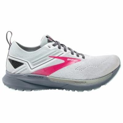 ブルックス Brooks レディース ランニング・ウォーキング シューズ・靴 Ricochet 3 White/Ice Flow/Pink