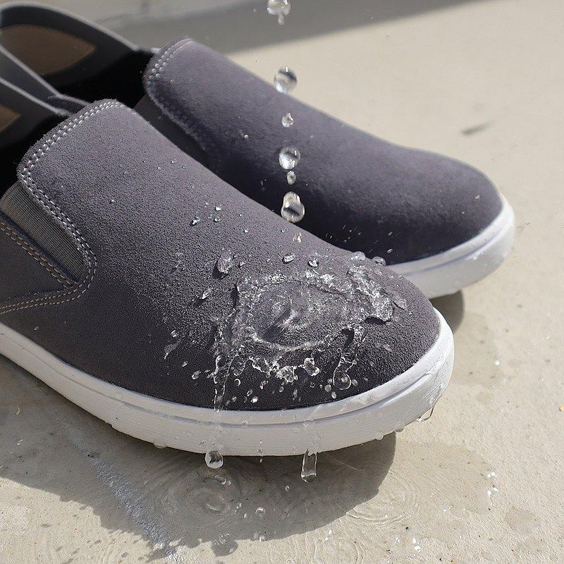 (防水雨鞋)2WAY可踩穿 ! 防水MIT真皮三合一休閒懶人鞋