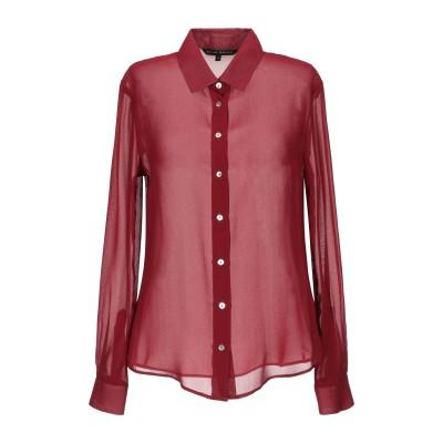 ブライアン デールズ BRIAN DALES シャツ ボルドー 38 アセテート 75% / シルク 18% / ナイロン 7% シャツ