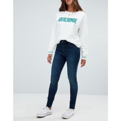 アバクロンビー&フィッチ Abercrombie & Fitch レディース ジーンズ・デニム ボトムス・パンツ high waist stretch superskinny jeans