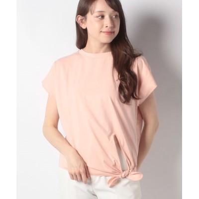 【マレーラ】 裾リボンカットソー レディース ライト ピンク 9号 MARELLA