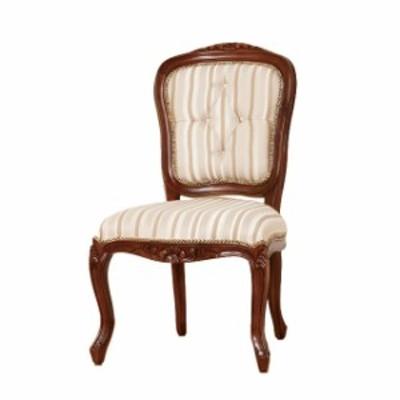 クロシオ マルシェ  チェアー 肘なし 28560 アンティークチェアー 木製椅子 イス アンティーク調 ダイニングチェアー