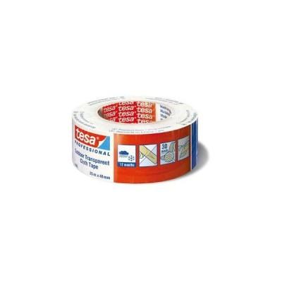 テサテープ 補修テープ 幅48mm×長さ25m 1巻(透明) 4665-48-25 返品種別B