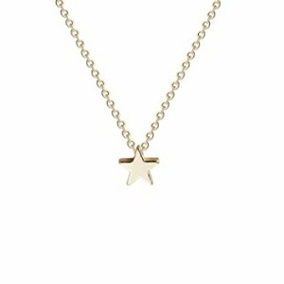 Fettero Tiny Gold Star Choker Necklace 14K Gold Filled Charm Small Star Pendant Necklaces Jewelry for Women