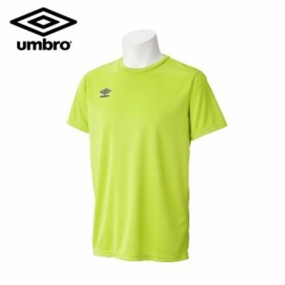アンブロ(umbro) サッカーウェア Tシャツ (メンズ) ワンポイントネックシャツ (UCS7554-RLIM) (カラー:RLIM) (サイズ:S)