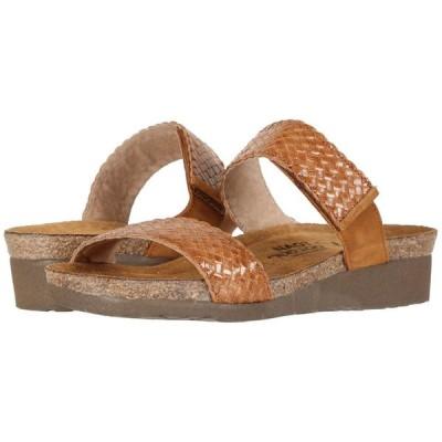 ナオト Naot レディース サンダル・ミュール シューズ・靴 Blake Maple Braid Leather/Amber Nubuck
