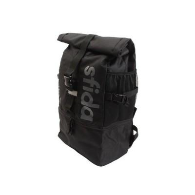 スフィーダ(SFIDA) 【多少の傷汚れありの為大奉仕】ロールバックパック OSF-BA22 BLK (メンズ)