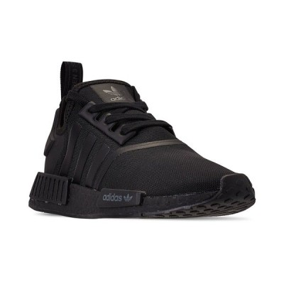 アディダス スニーカー シューズ メンズ Men's NMD R1 Casual Sneakers from Finish Line Core Black