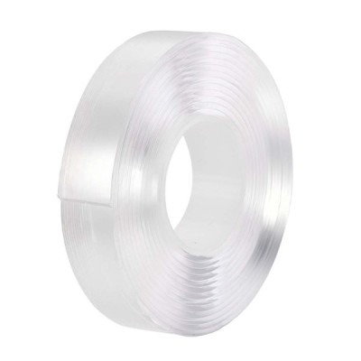 uxcell 20x3mアクリル高温テープ ペットベース材料製 ダブルサイド  LCD画面修理ステッカー2mm 厚さ クリアプロテクトフィルムでクリア