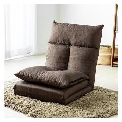 座椅子 おしゃれ リクライニング 一人掛け ベッド 背もたれ5段階 折りたたみ ソファーベッド