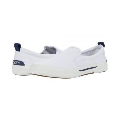 Sperry スペリー レディース 女性用 シューズ 靴 スニーカー 運動靴 Pier Wave Twin Gore - White