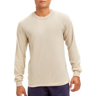 ソフィー Soffe メンズ トップス Crewneck Long Sleeve Shirt Sand