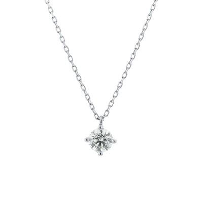 BLOOM ONLINE STORE / 【BLOOM/ブルーム】プラチナ ダイヤモンド(0.25ct) ネックレス WOMEN アクセサリー > ネックレス