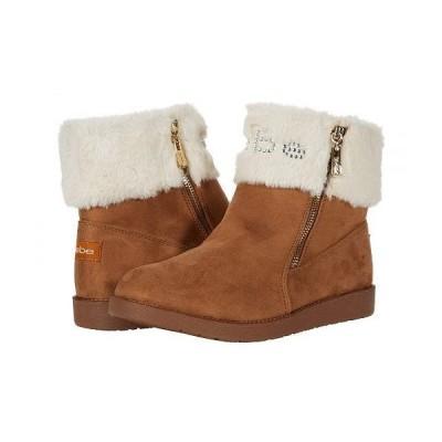 Bebe べべ レディース 女性用 シューズ 靴 ブーツ スタイルブーツ アンクル ショートブーツ Laurana - Camel