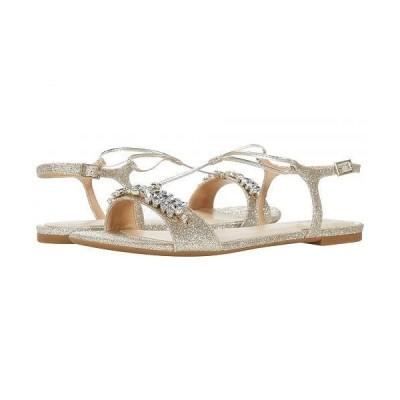 Jewel Badgley Mischka レディース 女性用 シューズ 靴 サンダル Paulina - Light Gold