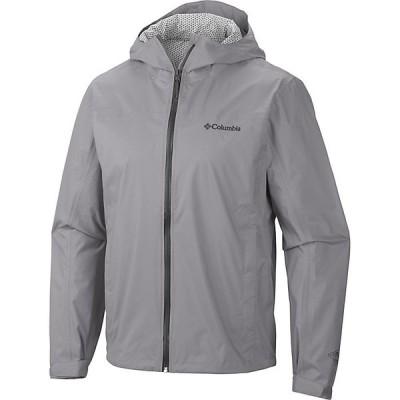 コロンビア ジャケット&ブルゾン メンズ アウター Columbia Men's EvaPOURation Jacket Columbia Grey