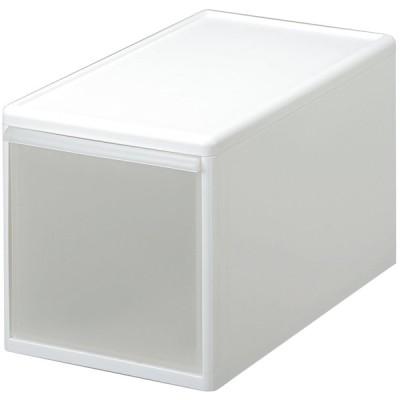 吉川国工業所 組み合わせて使える収納ケース ミディL (ホワイト) MOS-05ホワイト 返品種別A