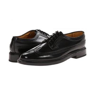 Florsheim フローシャイム メンズ 男性用 シューズ 靴 オックスフォード 紳士靴 通勤靴 Kenmoor Wingtip Oxford - Heritage Calf Black
