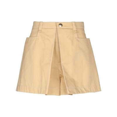 クロエ CHLOÉ ミニスカート キャメル 36 コットン 100% ミニスカート