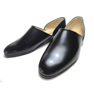 ハルタ HARUTA 850 スポックシューズ ドクターシューズ 黒 メンズ  靴