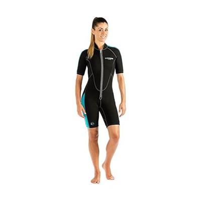 Cressi 2 mm Front Zipper Lido Women's Shorty Large by Cressi