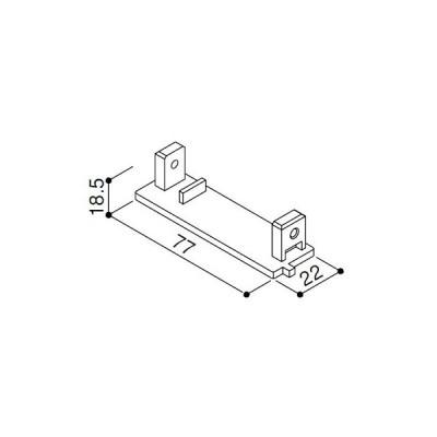 (ゆうパケット(メール便)対応)YKKAP交換用部品 鼻隠しキャップ(右)(HHK3-3020)