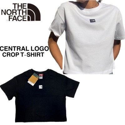 ノースフェイス Tシャツ セントラル クロップド丈 半袖 カットソー レディース THE NORTH FACE CENTRAL LOGO CROP T-SHIRT