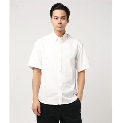シャツ ブラウス 【SOCIAL WEAR】オックスフォードボタンダウンSSシャツ