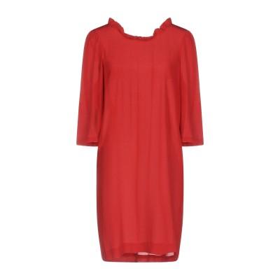 ロートレ ショーズ L' AUTRE CHOSE ミニワンピース&ドレス レンガ 40 シルク 100% ミニワンピース&ドレス
