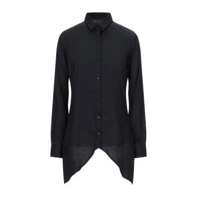 MNML COUTURE シャツ ブラック M コットン 97% / ポリウレタン 3% シャツ
