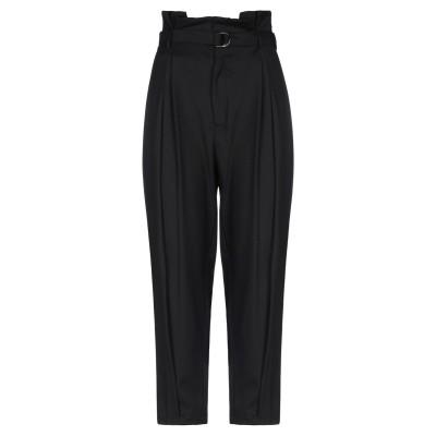 ISABELLE BLANCHE Paris パンツ ブラック S ポリエステル 62% / レーヨン 35% / ポリウレタン 3% パンツ