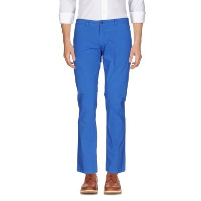 LIU •JO MAN パンツ アジュールブルー 56 コットン 97% / ポリウレタン 3% パンツ