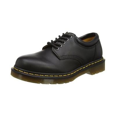 Dr. Martens mens 8053 Work Shoe, Black Nappa, 9 Women 8 Men US