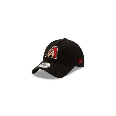 ニューエラ 帽子 アクセサリー メンズ Men's Arizona Diamondbacks On Field Replica 9TWENTY Cap Black