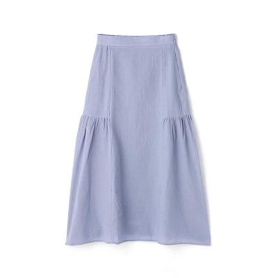 サイドフレアドビーマキシスカート