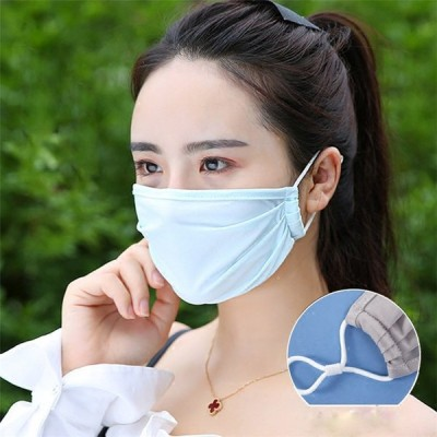 マスク 夏用 ひんやり 洗える 涼しいマスク おしゃれ 可愛い 立体マスク 長さ調整 UVカット 布マスク 蒸れない 日焼け防止 男女兼用 手洗い 繰り返し使える