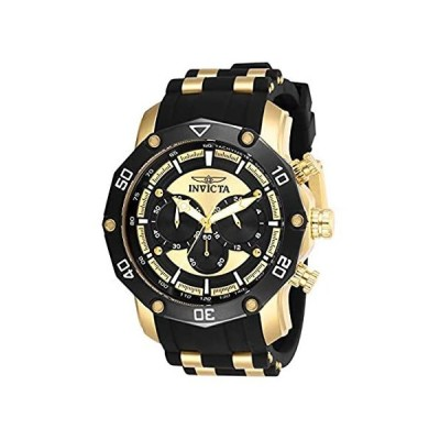 Invicta Men's Pro Diver Stainless Steel Quartz Watch with Silicone Strap, B