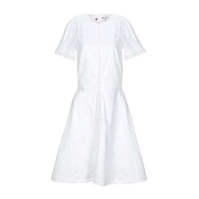 YOOX - トミーヒルフィガー TOMMY HILFIGER ミニワンピース&ドレス ホワイト 2 コットン 100% ミニワンピース&ドレス