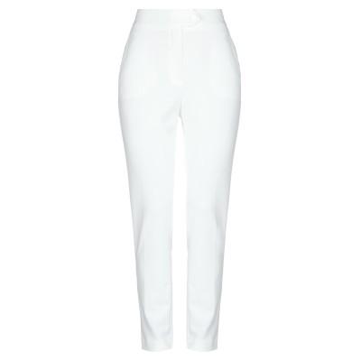 インペリアル IMPERIAL パンツ ホワイト XS ポリエステル 95% / ポリウレタン 5% パンツ