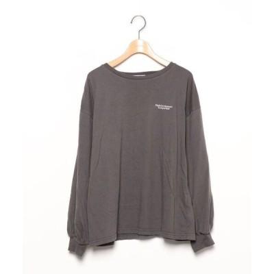 tシャツ Tシャツ 【gleam】長袖カットソー