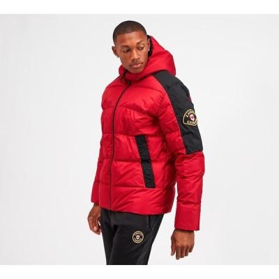 Zavetti カナダ Zavetti Canada メンズ ダウン・中綿ジャケット アウター allarto ripstop puffer jacket Red