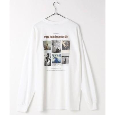 tシャツ Tシャツ LONG SLEEVE TEE ROBERTA2/ロングスリーブ ロベルタ2(フォトTシャツ/バックプリントロンT/ビッグシルエッ