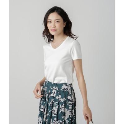 【ニューヨーカー/NEWYORKER】 NY Basic/ペルーコットン おとなニットTシャツ(スーツインナー対応)