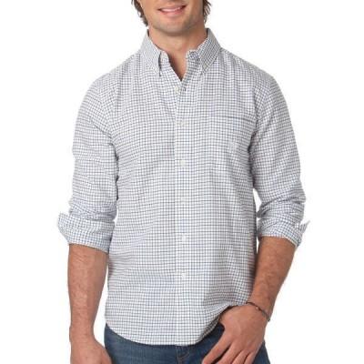 チャップス シャツ トップス メンズ Big & Tall Tattersall Oxford Shirt -