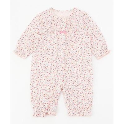 (KUMIKYOKU KIDS/クミキョクキッズ)【70cm】ピンクベリー ロンパース/ ピンク系5