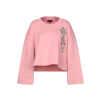 BURBERRY スウェットシャツ ピンク S コットン 100% スウェットシャツ