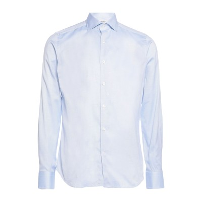SONRISA シャツ スカイブルー 38 コットン 100% シャツ