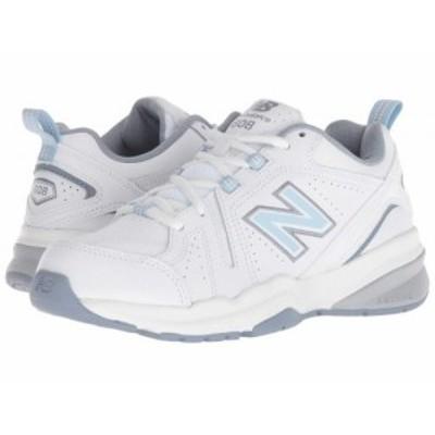 New Balance ニューバランス レディース 女性用 シューズ 靴 スニーカー 運動靴 WX608v5 White/Light Blue【送料無料】